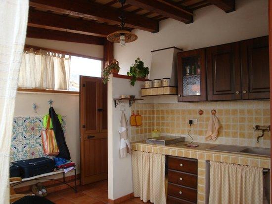 Bed & Breakfast Da Pina: veranda camera mare