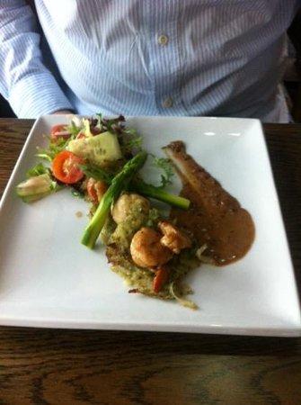 The Lock and Key Restaurant: scallops starter
