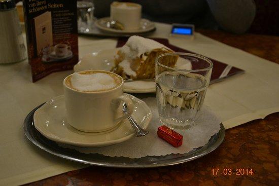 Cafe Central : Водичка для полоскания рта после кофе