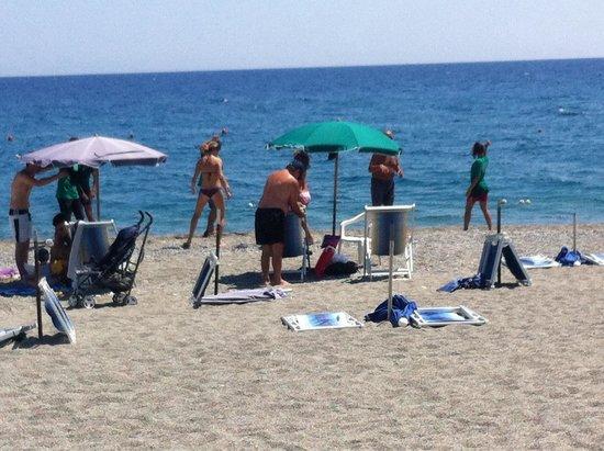 Bovalino, Italy: Risveglio muscolare con lo staff di Euro camping
