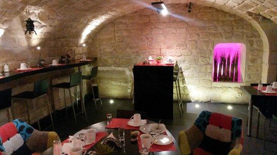 Hotel Louvre Rivoli: Breakfast room