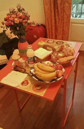 B&B Acasamia: colazione in camera