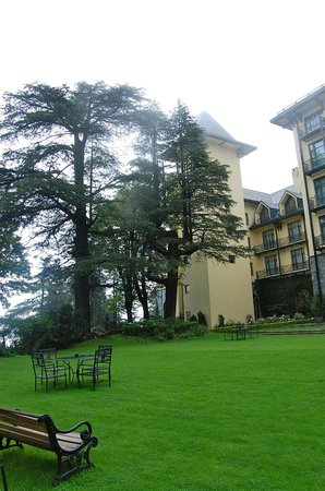 Wildflower Hall, Shimla in the Himalayas: Set amidst cedar trees