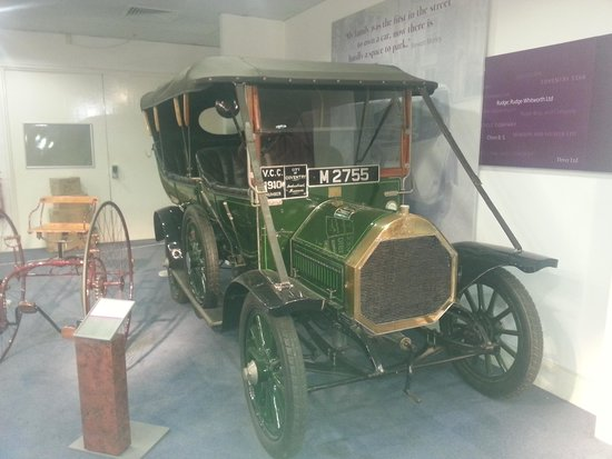 Coventry, UK: one of the old cars