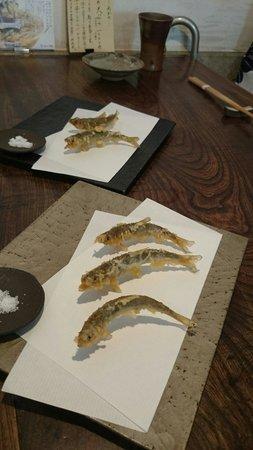 Narutomi: Small fish tempura