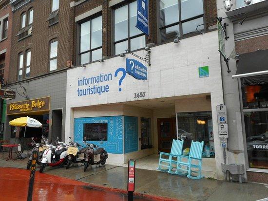 Bureau Information Touristique Trois-Rivières : Façade