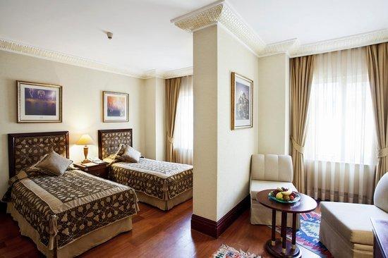 Eresin Crown Hotel Sultanahmet: Superior room