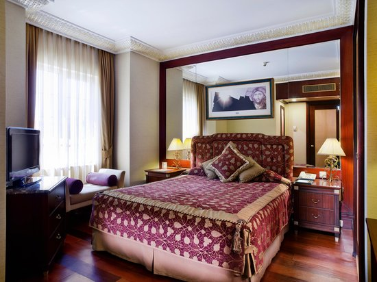 Eresin Crown Hotel Sultanahmet: Suit bedroom