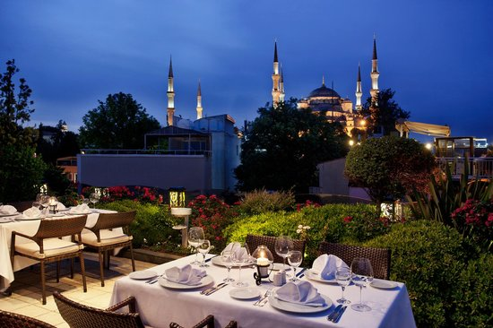 Eresin Crown Hotel Sultanahmet: Mosaic Terrace