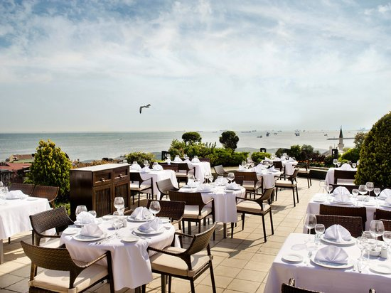 Eresin Crown Hotel Sultanahmet: Marmara Sea side