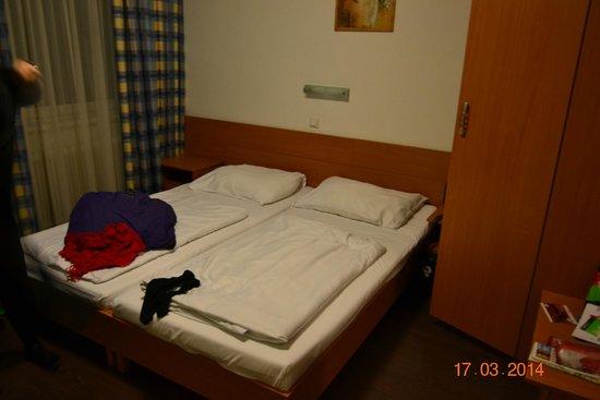 Hotel Geblergasse: Наш скромный номер