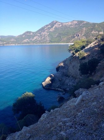 Liberty Hotels Lykia: Walking to olu deniz