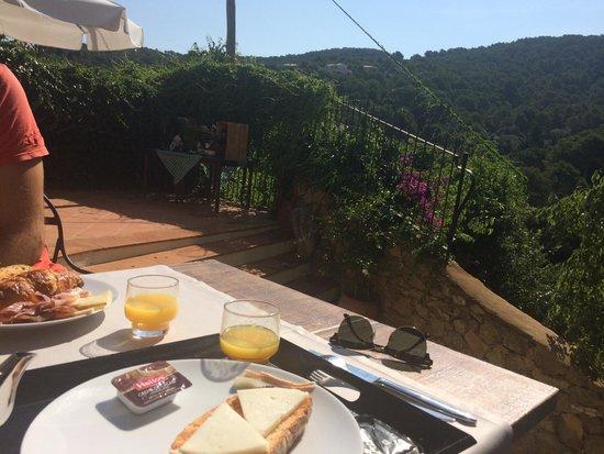Hotel El Convent : Desayuno/Terraza