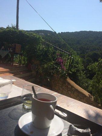 Hotel El Convent : Vistas desde la terraza/comedor