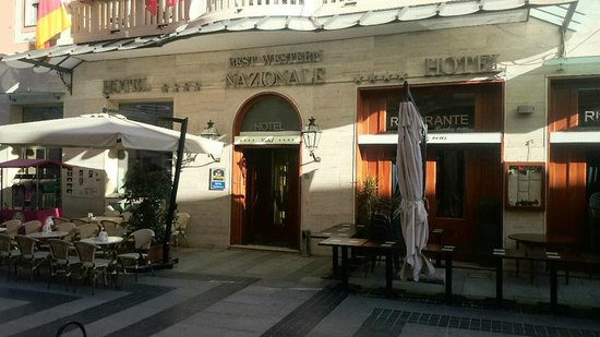 BEST WESTERN Hotel Nazionale : The entrance
