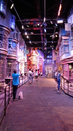 Warner Bros. Studio Tour London - The Making of Harry Potter: Le chemin de Traverse