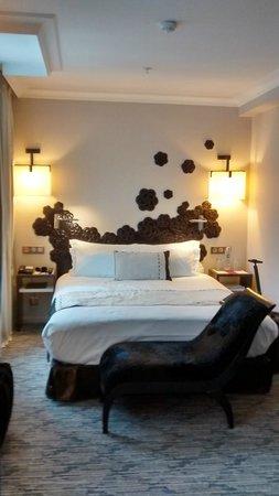 Hôtel Les Jardins de la Villa : chambre
