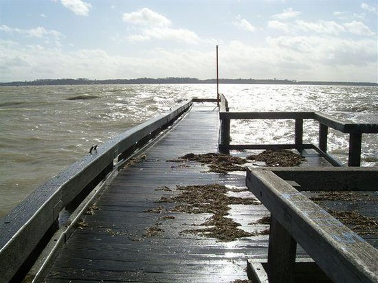 L'Auberge de la Marine : Estacade