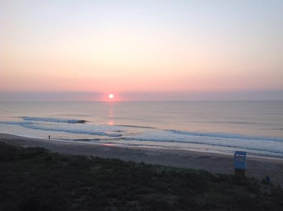 sunrise from atlantic towers