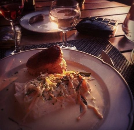 Brasserie Auberge: Un poisson et une sauce excellents