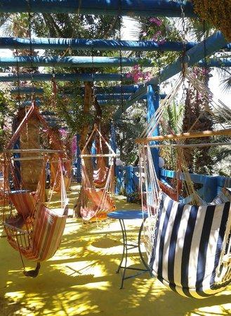 Palm Bay Hotel : Espace détente
