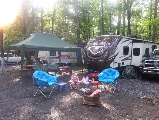 Knoebels Campground: Our campground