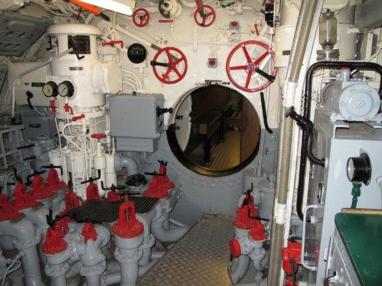 U-Boot U 995: U-995, one of the bulkheads
