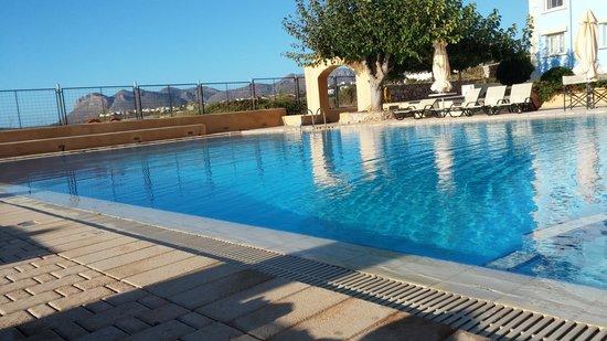 Giorgi's Blue Apartments: The pool