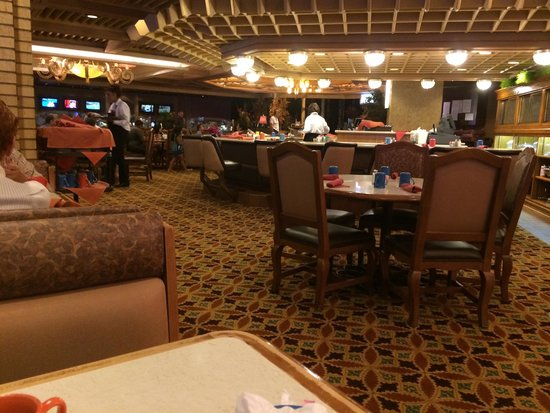Red Lion Hotel & Casino : Buffet and cafe, was great