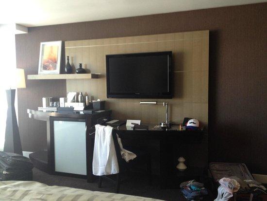 ARIA Resort & Casino: the room