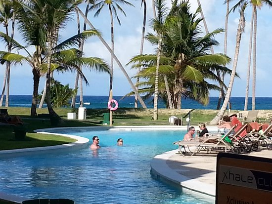 Breathless Punta Cana Resort & Spa : View from our patio