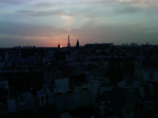 Holiday Inn Paris - Notre Dame: View from the roof deck