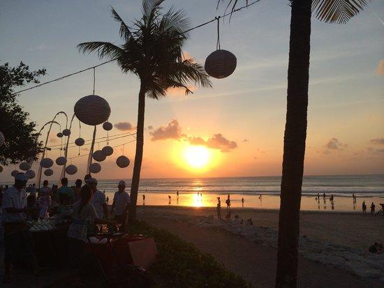 Bali Garden Beach Resort: Beautiful sunset