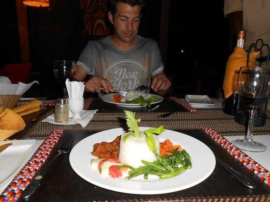 Serengeto Osupuko Tented Camp: Superb Food