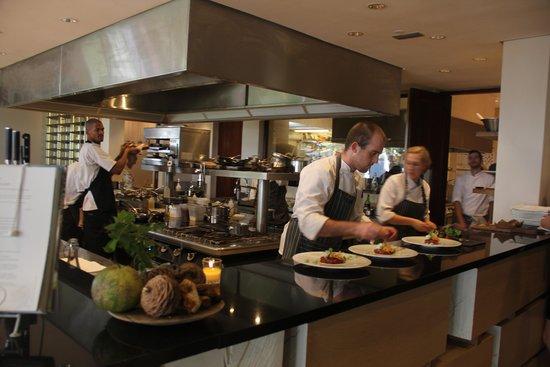 Pierneef a La Motte: o restaurante