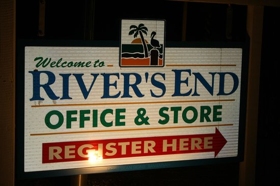 Rivers End Campground and RV Park: office