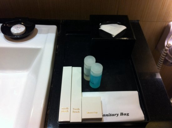 The Klagan Hotel: Toiletries