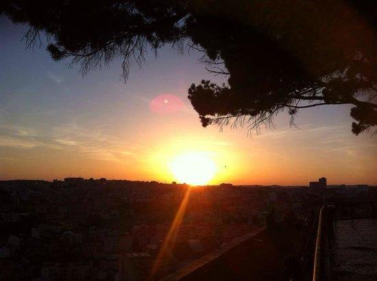 Miradouro da Senhora do Monte : sunset