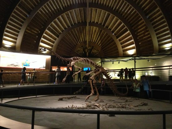 Museo Jurásico de Asturias MUJA: Макет  динозавра в музее Юрского периода