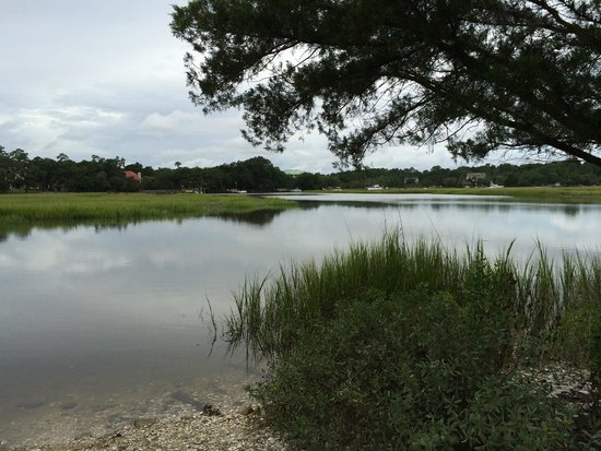 Boone Hall Plantation : View from Cotton Dock