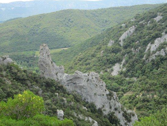Gorges de Galamus : de mooie uitzichten