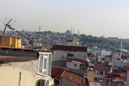 Louis Appartements Galata: view from room