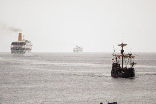 Porto Santa Maria Hotel: view from the room