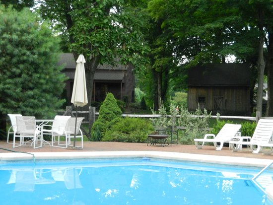 Green Acres Bed and Breakfast: Relax in the Pool