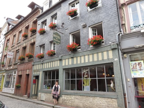 Hotel du Dauphin : 外観