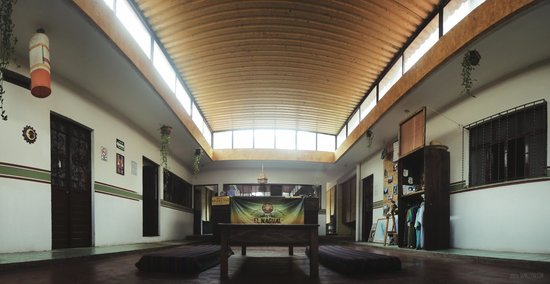 Hostel El Nagual: Reception / Recepcion
