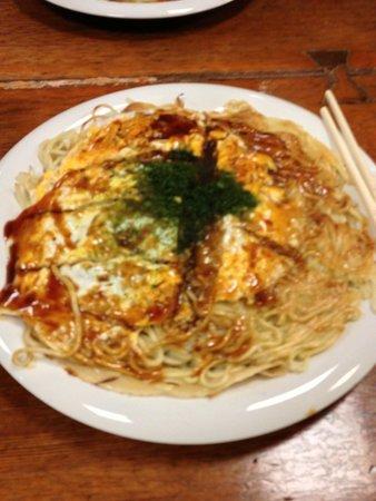 Mitchan Sohonten Hatchobori : Okonomiyaki