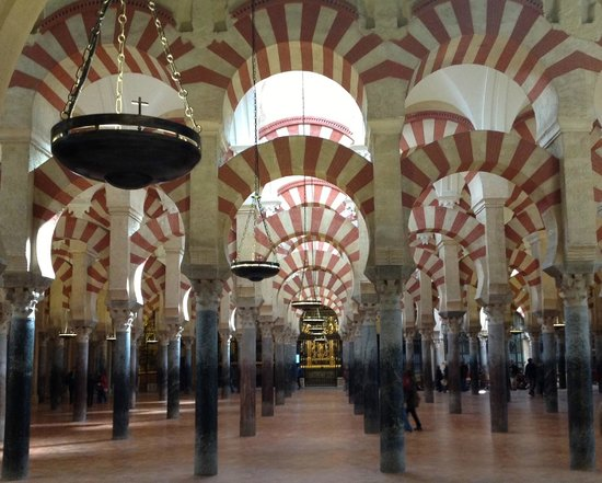 Mezquita Cathedral de Cordoba: The remarkable forest of columns & arches