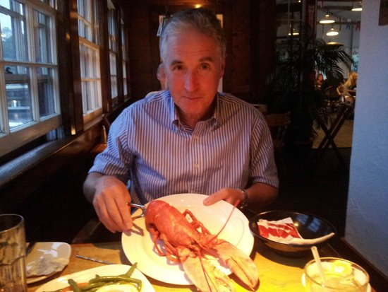 Arundel Wharf Restaurant: Delicious Main Lobster