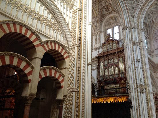 Mezquita Cathedral de Cordoba: Juxtaposition of Islamic & Christian architecture